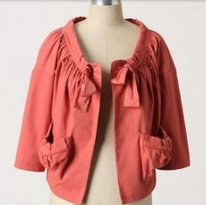 Anthropologie, Girl From Savoy Orange Coat